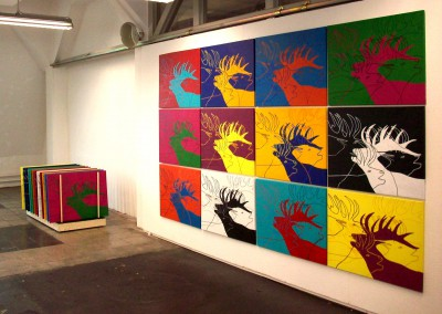 Kunsthirsch  Ausstellung